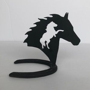Hand Crafted Accents - Handmade Horse Decor